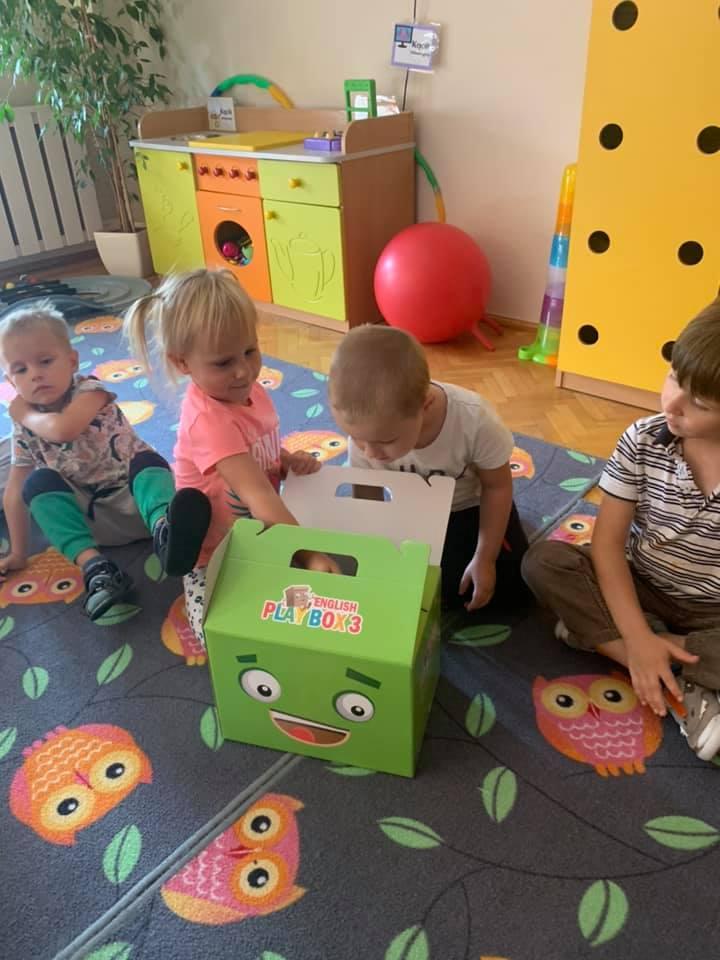 PlayBox na zajęciach z j.angielskiego